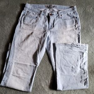 EUC Abercrombie and Fitch Sz 10 long jeans